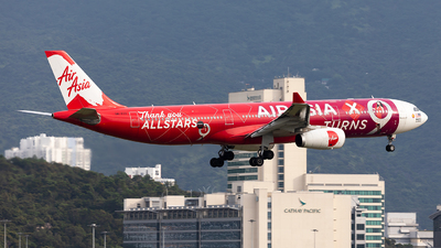 A picture of 9MXXA - Airbus A330343 - AirAsia X - © Nestor Hung