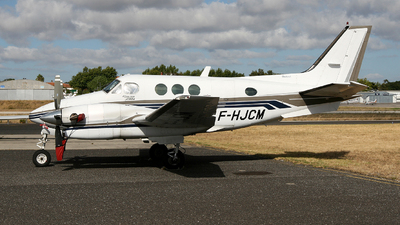 F-HJCM - Beechcraft C90A King Air - Private