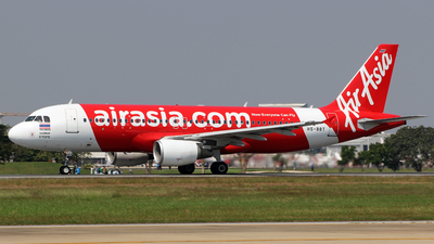 A picture of HSBBT - Airbus A320216 - AirAsia - © Silas