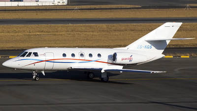 ZS-KGS - Dassault Falcon 20 - Guardian Air