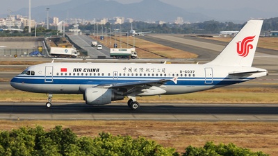 B-6037 - Airbus A319-115(LR) - Air China