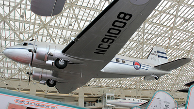 NC91008 - Douglas DC-3 - Alaska Airlines