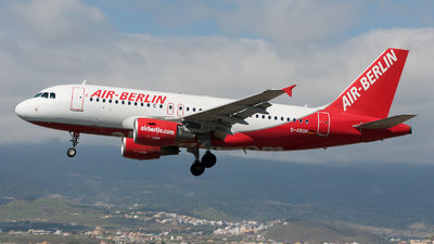 D-ABGH - Airbus A319-112 - Air Berlin