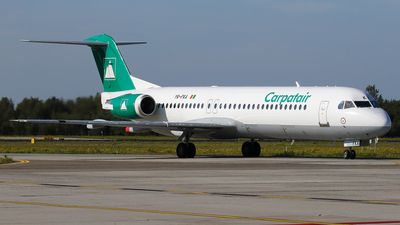 A picture of YRFKA - Fokker 100 - Carpatair - © BaszB