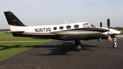 N2673D - Cessna 340A - Private