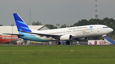 PK-GMQ - Boeing 737-8U3 - Garuda Indonesia