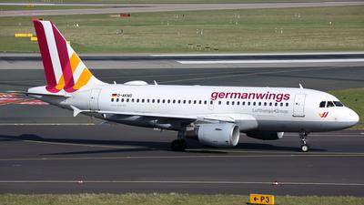D-AKNO - Airbus A319-112 - Germanwings