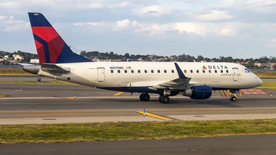 A picture of N809MD - Embraer E170SU - Delta Air Lines - © xuxinyi1000