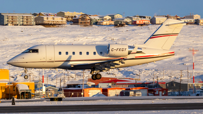 A picture of CFKGY - Bombardier Challenger 604 - [5419] - © Brian Tattuinee