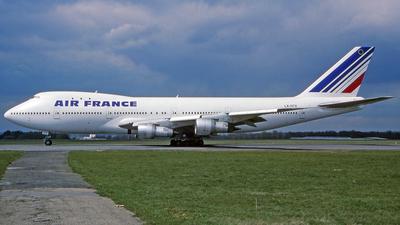 LX-GCV - Boeing 747-121 - Air France