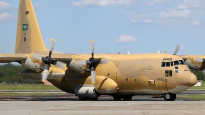 472 - Lockheed C-130H Hercules - Saudi Arabia - Air Force
