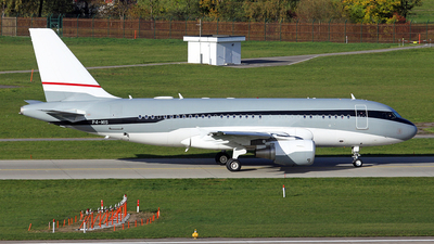 P4-MIS - Airbus A319-115X(CJ) - Global Jet Luxembourg