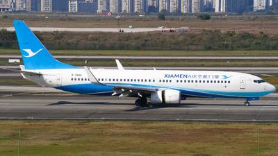 A picture of B7848 - Boeing 73785C - Xiamen Air - © ZUCKGYQ