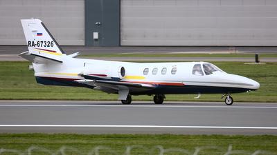 RA-67326 - Cessna 500 Citation I - Private
