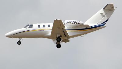 A picture of N448LL - Cessna 525 Citationjet CJ1+ - [5250651] - © toyo_69pr