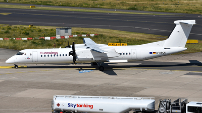 D-ABQK - Bombardier Dash 8-Q402 - Eurowings (LGW Luftfahrtgesellschaft Walter)