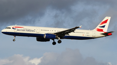 G-MEDJ - Airbus A321-231 - British Airways