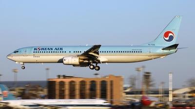 A picture of HL7725 - Boeing 7379B5 - Korean Air - © Liu Yonggang