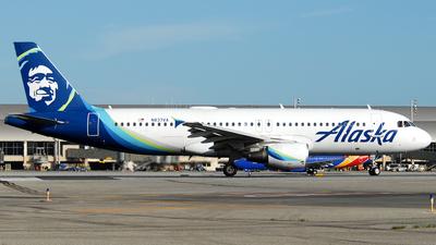 A picture of N837VA - Airbus A320214 - Alaska Airlines - © Jason Whitebird
