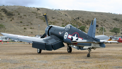 ZK-COR - Goodyear FG-1D Corsair - Private