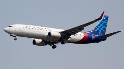 PK-CRF - Boeing 737-86N - Sriwijaya Air