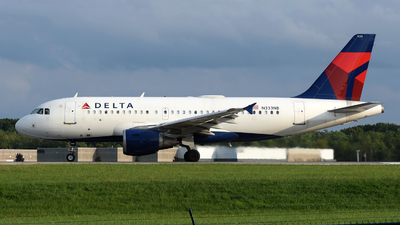 A picture of N333NB - Airbus A319114 - Delta Air Lines - © DJ Reed - OPShots Photo Team