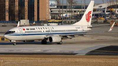 A picture of B5343 - Boeing 73789L - Air China - © Liu Yonggang