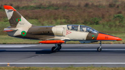 312 - Aero L-39ZA Albatros - Bangladesh - Air Force