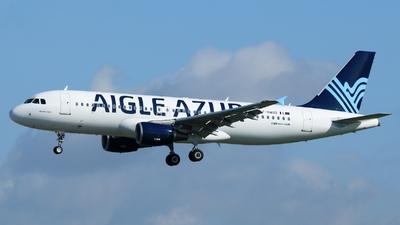 F-HAQD - Airbus A320-214 - Aigle Azur