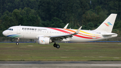 B-321V - Airbus A320-251N - Colorful Guizhou Airlines