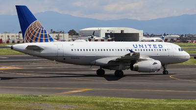 A picture of N844UA - Airbus A319131 - United Airlines - © Josué Villa