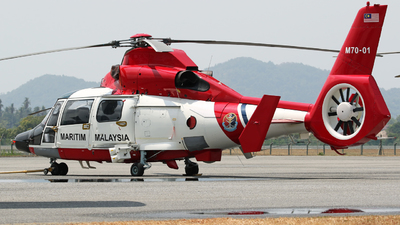 M70-01 - Eurocopter AS 365N3 Dauphin - Malaysia - Maritime Enforcement Agency (MMEA)