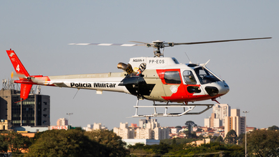 PP-EOS - Helibrás AS-350B2 Esquilo - Brazil - Military Police
