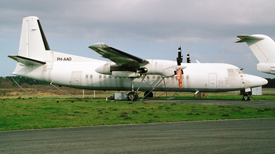 PH-AAO - Fokker 50 - Untitled