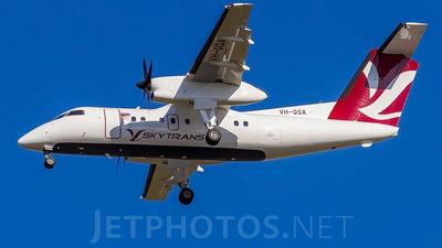 A picture of VHQQA - De Havilland Canada Dash 8100 - [005] - © Nathen Sieben