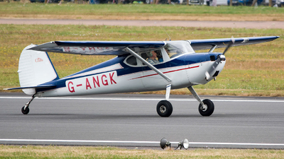 G-ANGK - Cessna 140 - Private