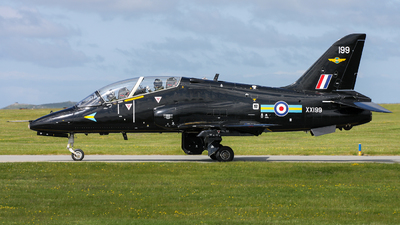 XX199 - British Aerospace Hawk T.1A - United Kingdom - Royal Air Force (RAF)