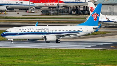 A picture of B1285 - Boeing 73781B - China Southern Airlines - © Miaomiao
