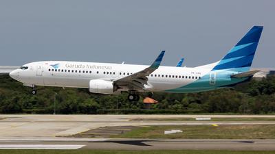 PK-GNV - Boeing 737-8U3 - Garuda Indonesia