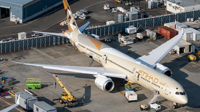 N8572C - Boeing 787-10 Dreamliner - Etihad Airways