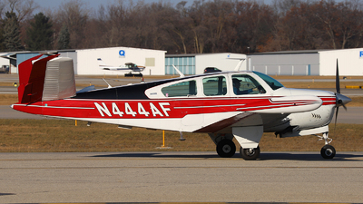 N444AF - Beechcraft V35B Bonanza - Private