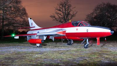 XL591 - Hawker Hunter T.7 - United Kingdom - Royal Air Force (RAF)