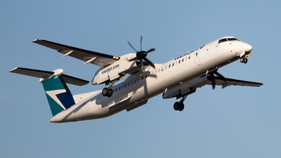 A picture of CGWEJ - De Havilland Canada Dash 8400 - WestJet - © Shon F