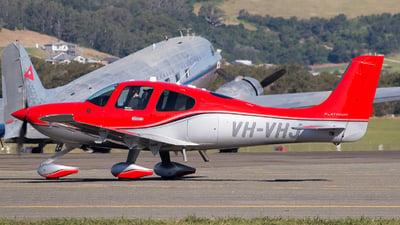 VH-VHJ - Cirrus SR22T - Private