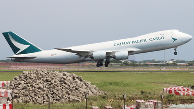 A picture of BLJA - Boeing 747867(F) - Cathay Pacific - © CHA CHA
