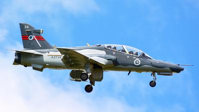 A27-34 - British Aerospace Hawk Mk.127 Lead-In Fighter - Australia - Royal Australian Air Force (RAAF)