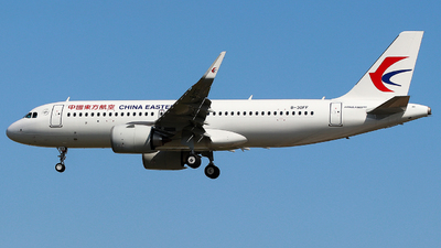 B-30FF - Airbus A320-251N - China Eastern Airlines