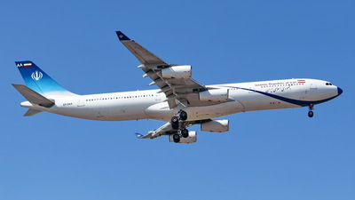EP-DAA - Airbus A340-313X - Iran - Government