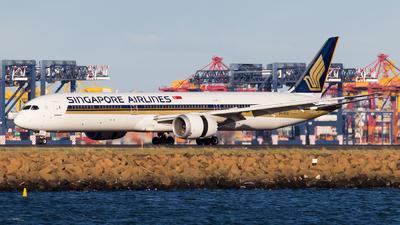 9V-SCA - Boeing 787-10 Dreamliner - Singapore Airlines