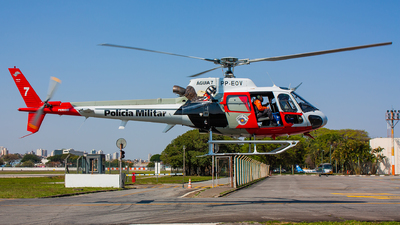 PP-EOV - Helibrás HB-350B Esquilo - Brazil - Military Police